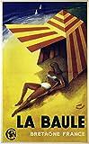 Unbekannt La Balle Bretagne Poster, Reproduktion, Format 50