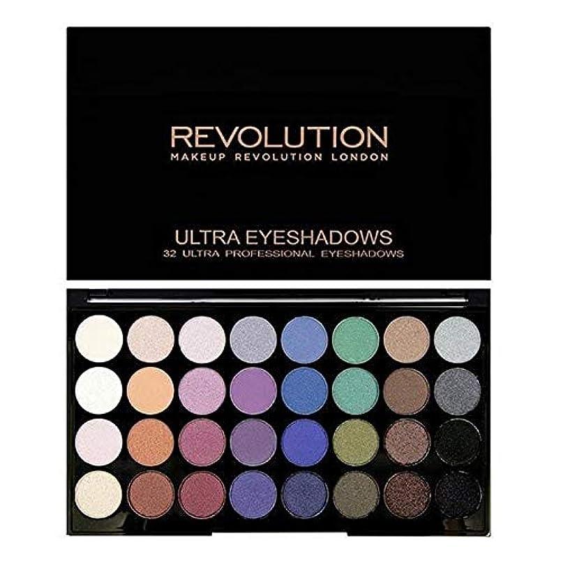 たとえ不明瞭技術者[Revolution ] 永遠に革命32アイシャドウパレット人魚 - Revolution 32 Eye Shadow Palette Mermaids Forever [並行輸入品]