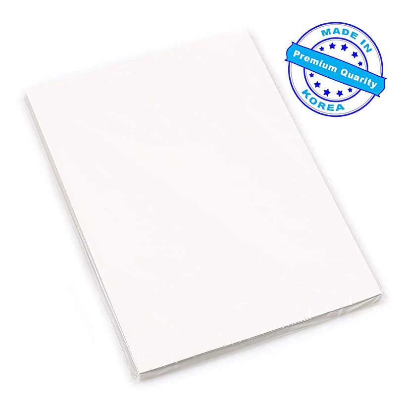 Premium 100 Sheets A4 Dye Sublimation Heat Transfer Paper (ie T-Shirt Transfers Print Iron on Sheet) for Epson, HP, Canon, Ricoh, SawGrass Inkjet Printers
