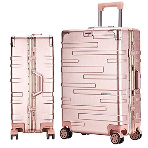Great Deal! Cvmnkljfger Lightweight Expandable Travel Luggage Carry On PC Rolling Luggage Spinner Br...