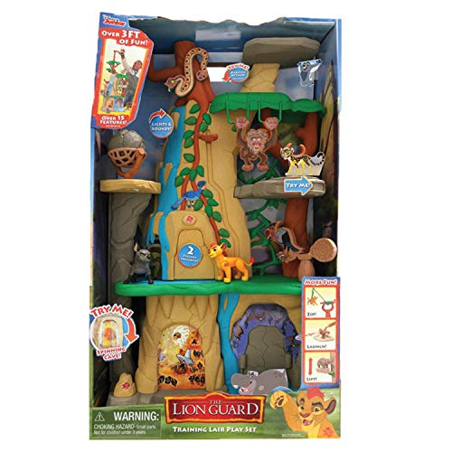 Just Play Lion Guard Training Lair Playset