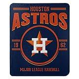 Northwest MLB Houston Astros 50x60 Fleece Southpaw DesignBlanket, Team Colors, One Size