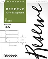 CAムAS SAXOFON ALTO - DエAddario Rico Reserve Classic (Caja Verde) (Dureza 3 ス) (Caja de 10 unidades)