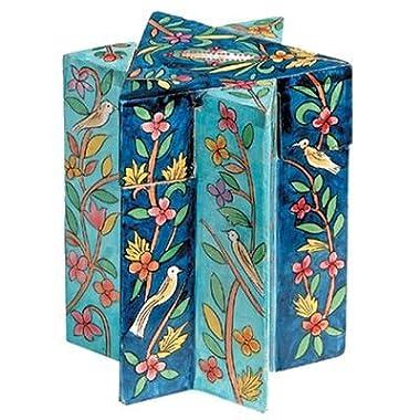 Oriental Designed Star of David Tzedakah / Charity Box by Yair Emanuel