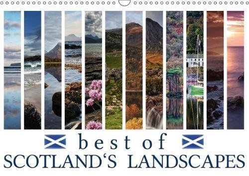 Best of Scotland's Landscapes (Wall Calendar 2018 DIN A3 Landscape): Discover 12 stunning