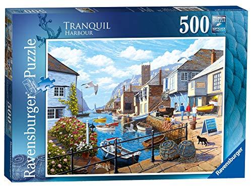Ravensburger UK 14715 Tranquil Harbour Puzzle 500 pièces pour Adultes et Enfants à partir de 10 Ans, Multicolore