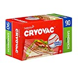 Diversey CRYOVAC Resealable Sandwich Bags (90 Bags), Model:100946906