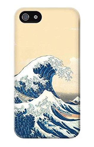 Hokusai Under The Wave off Kanagawa Case Cover Custodia per IPHONE 5 5S SE