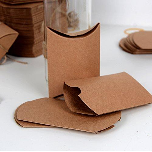 Geschenkboxen aus Kraftpapier |100 Stück - 5