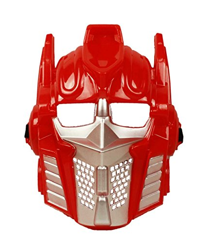 HAAC Maske Roboter Farbe rot für Fasching Halloween Karneval