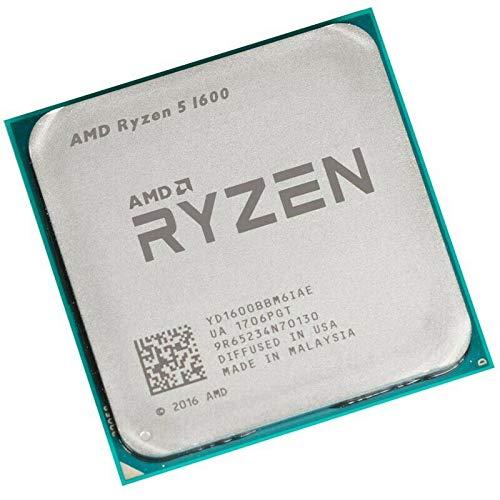 AMD Ryzen 5 1600 36GHZ 19MB Cache 65W Tray YD1600BBM6IAE Cache 65W Tray