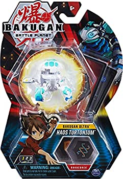 Bakugan Ultra Haos Turtonium 3-inch Collectible Action Figure and Trading Card for Ages 6 and Up