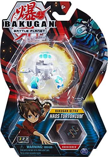 BAKUGAN Battle Planet Ultra Haos Turtonium Figurine à Collectionner 3 cm