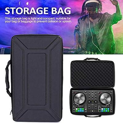 talogca Eva Hard Case Controller Travel Storage Bag For Pioneer DJ DDJ-SB3 / DDJ-SB2 DJ/DDJ-400 Portable DJ Controller 2 Channel Storage Bag