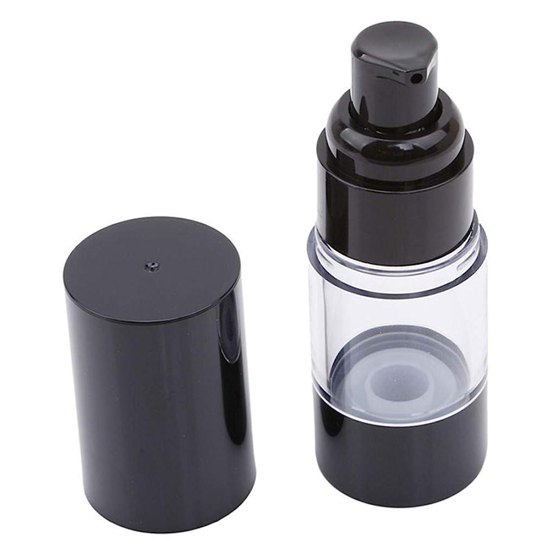 動機付ける再集計意外LJSLYJ 真空ポンプ化粧品ボトル旅行ポータブルBBクリームファンデーションプレスミニエマルジョンスプレー空のボトル、15ミリリットル