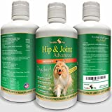Concentrated Liquid Glucosamine for Dogs ? Advanced Hip and Joint Supplement with Chondroitin, MSM,...