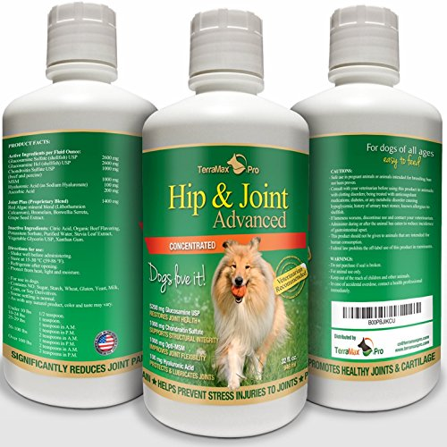 Top 10 best selling list for best concentrated liquid glucosamine supplement for dogs