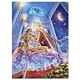 AOLIGEI Serie Luminosa: 1000 Piezas De Rompecabezas Animado De Cristal De Dibujos Animados Zapatos De Descompresión De Bricolaje Juego De Puzzle (38 * 52cm)