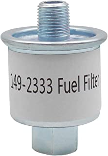 RV Generator Fuel Filter replace for Cummins Onan 149-2333 Fits Emerald Plus 6500, 6300, 5000, 4000/BGE Spec J/BGD Spec A-B/KVC/NHD/NHE/Fits Emerald BGE And NHE Model RV Generators.