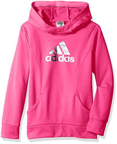 Adidas - Sudadera con capucha para niña - Rosa - Large