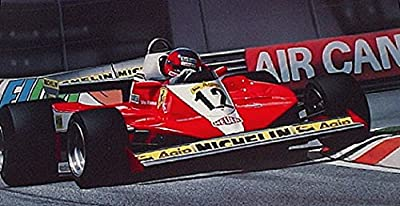 Frequent Flyer- Gilles Villeneuve Formula One Racing Print