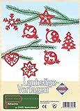 Pebaro 334/6S - Plantilla para Trabajar con Sierra de marquetería - Motivo: Decoración de árbol de Navidad I