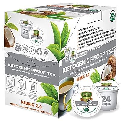 SOLLO KETOgenic Proof Organic Green Tea Pods wi...