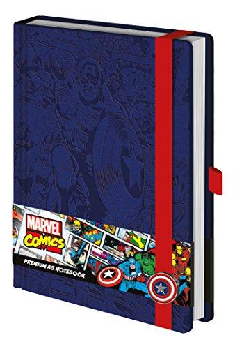 Marvel-Captain America-Premium-Notebook, sr72206, A5