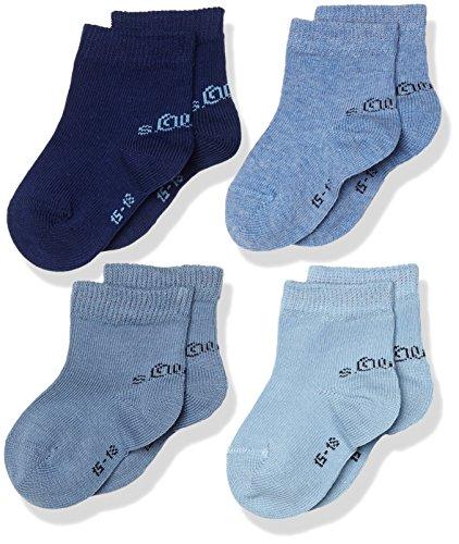 lot de 4 s.Oliver Socks Chaussettes Mixte B/éb/é