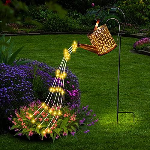 Luci da giardino a LED per bollitore, lampada da giardino creativa con cielo stellato, innaffiatoio...