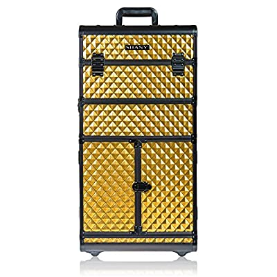 SHANY REBEL Series Pro Makeup Artists Rolling Train Case