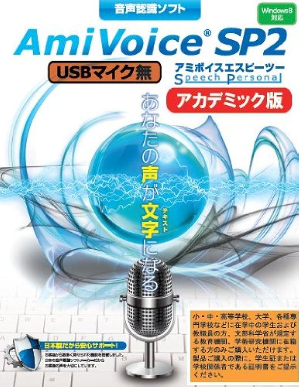 普通の説得力のあるノミネートエムシーツー 音声認識ソフト AmiVoice SP2 USBマイク無 AC