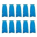 Not application Bolsas de Emesis, 10 Paquetes de Bolsas de vómito Desechables, Bolsas Azules de Barf, Bolsas de Viaje para Las náuseas para Tirar el Coche