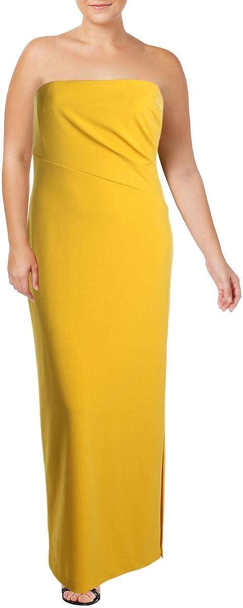 LAUREN RALPH LAUREN Womens Tichina Strapless Off-The-Shoulder Evening Dress