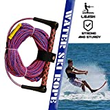 Corda da Sci Nautico, 75ft di Tavole da Wakeboard, Fune da Traino per Motoscafo da Surf, Rosa & Blu