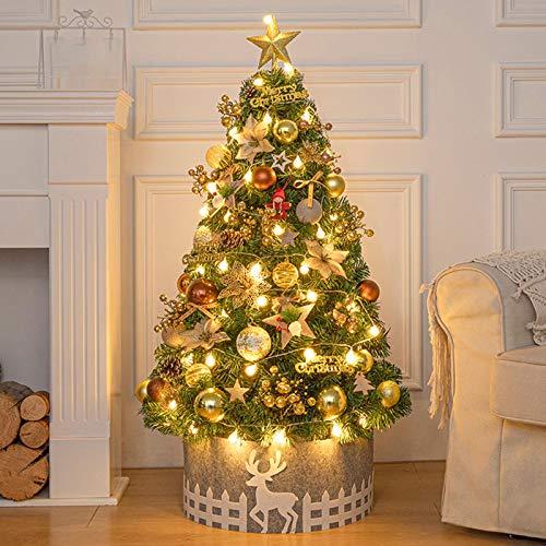 Yaxing Albero di Natale da Tavolo da 60 cm / 24',Albero di...