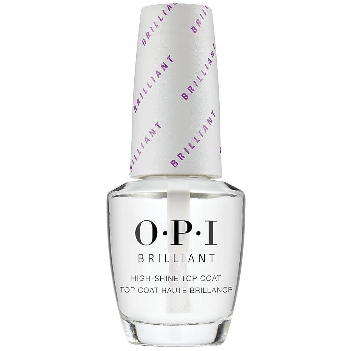 問題慢な適性OPI(オーピーアイ) オーピーアイ ブリリアント トップコート