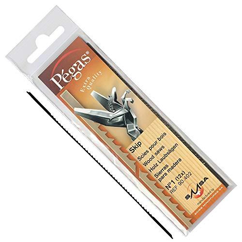 Pégas® Laubsägeblatt Skip, Blattbreite 0,85 mm, 144 Stück