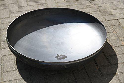 Feuerschale Ø 500 mm Klöpperboden 50 cm Wandstärke 3 mm