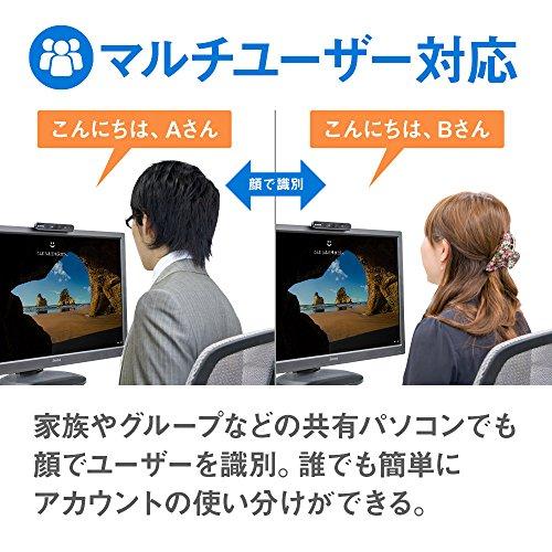 『mouse USB顔認証カメラ Windows Hello 機能対応 CM01』の6枚目の画像