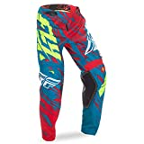 Fly Racing Kids Cross Hose Kinetic Relapse Grün Gr. 26