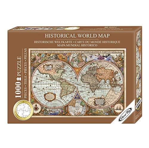 Close Up Rompecabezas/Puzzle Mapa Mundial Histórico - Aimee Stewart [1000 Piezas] (68cm x 48cm)