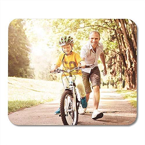 Kind Fahrrad Erste Lektionen Fahrrad Reiten Fahrt Vater Durable Komfortable Anti-Rutsch-Gaming-Pads 18cmx22cm