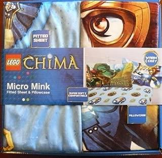Lego Chima Micro Mink 2 Piece Warm Sheet Set Twin