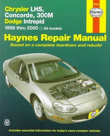 Chrysler Lhs, Concorde, 300m & Dodge Interprid: 1998-2000 (Haynes Automotive Repair Manual Series)