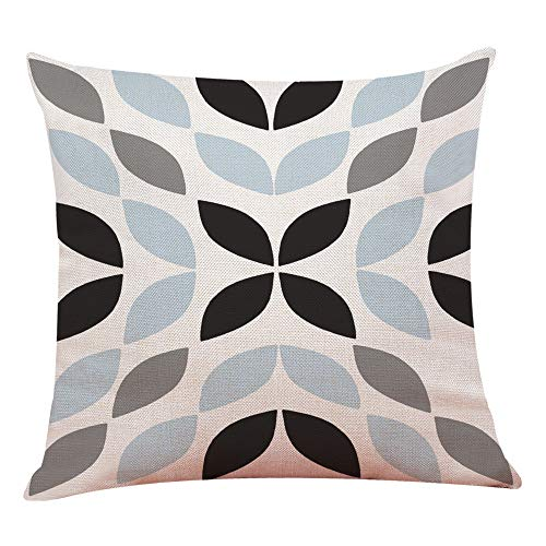 UYSDF Fashion Pillowcase 45 * 45 cm,Home Decor Cushion Cover Simple Geometric Throw Pillowcase Pillow Covers
