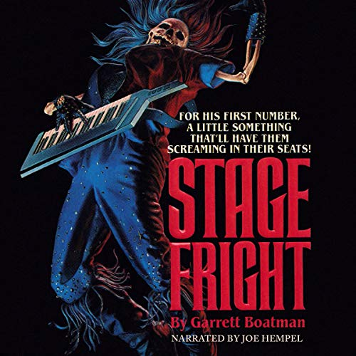 Stage Fright Audiobook By Garrett Boatman cover art