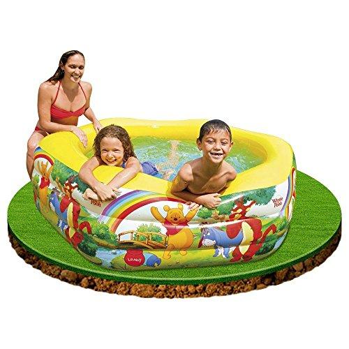 Disney Deluxe Pool Winnie The Pooh 191cm x 178cm x 61cm 57494NP by Intex