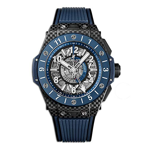 Hublot Big Bang Unico GMT 471.QL.7127.RX - Cerámica de carbono, color azul