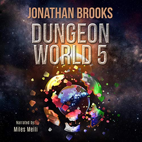 Dungeon World, Book 5 cover art